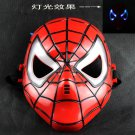 Free Shipping High Quality Guarantee100% A++++++Spider-Man Mask With Light Emitting Children029