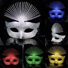Free Shipping High Quality Guarantee100% A++++++New Halloween Mask Woman Peacock Ogata030