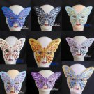 Free Shipping High Quality Guarantee100% A++++++Wrapped Ball Glitter Butterfly Mask034