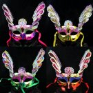 Free Shipping High Quality Guarantee100% A++++++New embroidered butterfly mask dance performances040