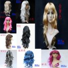 Free Shipping high quality Guarantee100% Window mannequins wig big wave wig065