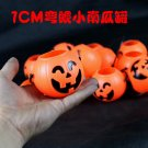 Free Shipping High Quality Guarantee100% A++++++Halloween pumpkin bucket supplies curved eye 7cm073