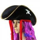 Free Shipping High Quality Guarantee100% A++++++Halloween Jia Bile pirate hat084