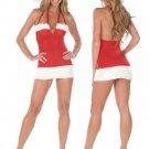 Skinny Mini Christmas Cosplay Set Sexy Costumes Bar Play Dance Cubwear Fantasy Women Clothing