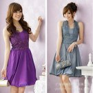 Embroidery Halter Sexy Vintage Party Dress  Women  Bridesmaids Clothing Slim Plus Size