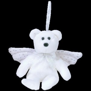 Ty Jingle Beanie Baby Herald the Christmas Bear Retired