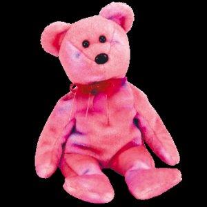 Clubby V 5 the Bear Ty Beanie Baby Retired