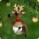 Hallmark 2000 Reindeer Christmas Bells Series Miniature Ornament