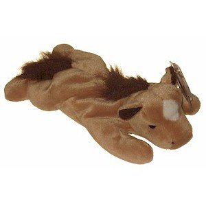 Derby the Horse Fluffy Mane Ty Beanie Baby Retired