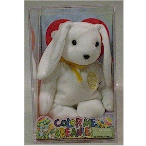 Color Me Beanie the Easter Bunny Ty Baby Retired