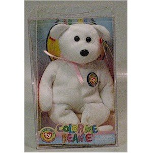 Color Me Beanie the Bear Ty Beanie Baby Retired