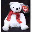 2000 Holiday Teddy Bear Ty Beanie Baby Retired Christmas