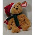 2003 Holiday Teddy Bear Ty Beanie Baby Retired Christmas