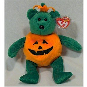 Tricky the Halloween Bear Ty Beanie Baby Retired