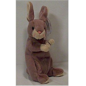 Springy the Lavender Bunny Ty Beanie Baby Retired Easter