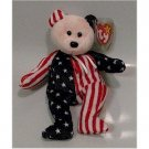 Spangle the Bear Ty Beanie Baby Retired USA
