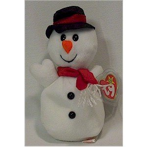 Snowball the Snowman Ty Beanie Baby Retired