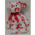 Smooch the Bear Ty Beanie Baby Retired Valentine's Day