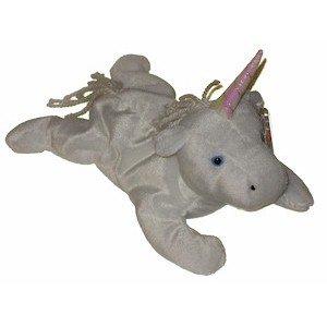 Mystic the Unicorn Ty Beanie Baby Retired Yarn Mane Tail
