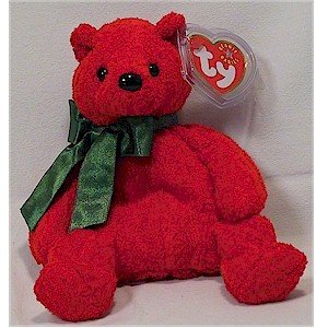 Mistletoe the Bear Ty Beanie Baby Retired Christmas