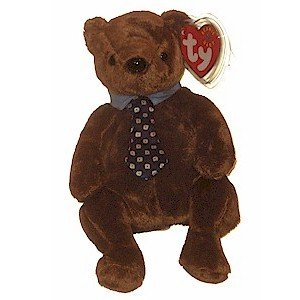 Hero the Father's Day Bear Ty Beanie Baby Retired