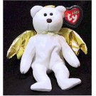 Halo II the Gold Wing Angel Bear Ty Beanie Baby Retired Christmas