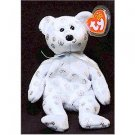 Flaky the Bear Ty Beanie Baby Retired