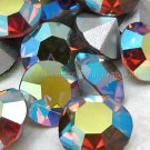12 Swarovski 29ss Light Smoked Topaz AB Chatons Article 1100 Crystal Rhinestones Lot