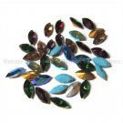 36 Swarovski 10x5mm Navette Rhinestones Rare Vintage Colors Mixed Lot
