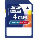 Dane Elec-4GB SDHC Memory Card