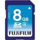 Fujifilm-8GB SDHC Class 4 Memory Card