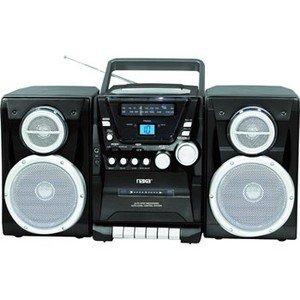 Naxa-AM/FM Stereo Radio Cassette Player/Recorder Top Loading MP3/CD