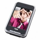 """MP3 Player w/ 2.8"""" Touch Screen,Built-in 4GB Memory,Camera,FM Radio,Speaker,SD Card Slot"""