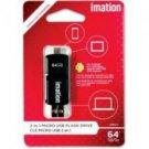 Imation-64GB 2in1 Micro USB Flash