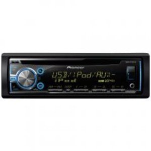 Pioneer- Single-DIN In-Dash CD Receiver with MIXTRAX(R) Internet Radio Ready