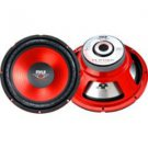 """Pyle-12"""" Red Cone High Performance Subwoofer - 800W Max"""
