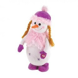 Miss Snow Dancing Plush