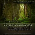 DVD In Pursuit of the Olympic Rainforest Sasquatch