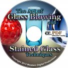 80+ eBooks Glass Blowing Stained Art Window Crafts