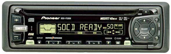 Pioneer DEH P2000 CD Player