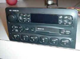 Ford OEM Radio XF2F-19B132-BC FORD MERCURY NISSAN QUEST RADIO