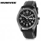 Humvee Recon Series Japanese Miyota Day-Date Movement Gunmetal Plated Military Time  Mens Watch
