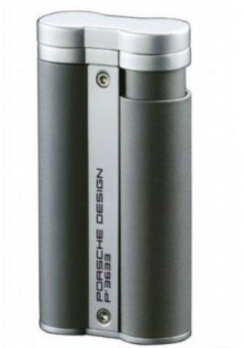 Porsche Design P'3633 Circular Flame Cigar Lighter-Gray
