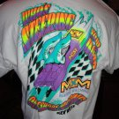 Powerboat Racing T-Shirt 100% cotton  Large Size