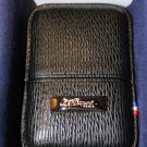 s.t.dupont black leather lighter case for L2 Lighter in the original box NIB