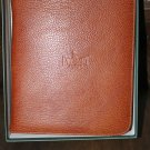 pheasant by R.D.Gomez made in Spain Havana  colored Leather  Cigar Case