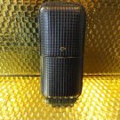 Cohiba Black & Gold Leather Cigar Case holds 3 cigars without box