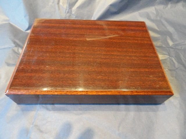 MASTRO DE PAJA -   Cedar Travel Humidor Cigar Box made in Italy
