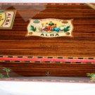 Elie Bleu Flor de Alba  Rosewood  Humidor 110 Count NIB Made in France
