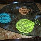 Higgins Glass Hot Air Balloon Design Ashtray